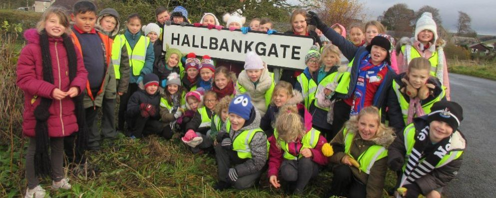 Life at Hallbankgate Village School
